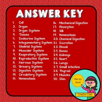 Science Vocabulary Review Card Bundle