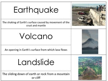 Science Vocabulary: Rocks and Minerals Teaching Unit and Rock Cycle Unit