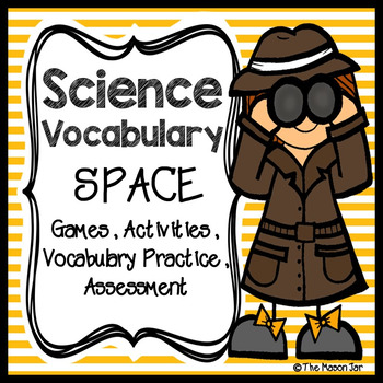 Science Vocabulary - Space
