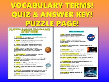 Night study guide answer key mcgraw hill ebook the planets study guide with key array astronomy study guide teaching resources teachers pay teachers rh teacherspayteachers com fandeluxe Images