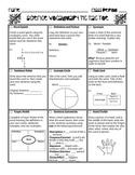 Science Vocabulary Tic Tac Toe