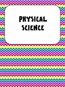 Science Vocabulary Word Wall Cards 5th Bold
