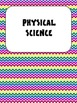 Science Vocabulary Word Wall Cards Physical Bold