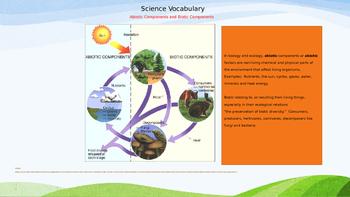 Science Vocabulary for Grades 3-6