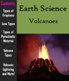 Volcanoes PowerPoint (Geology Unit)