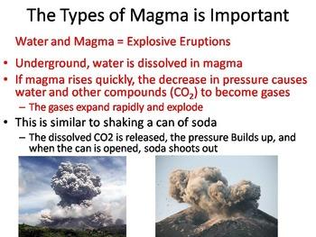 Volcanoes PowerPoint (Geology Unit)