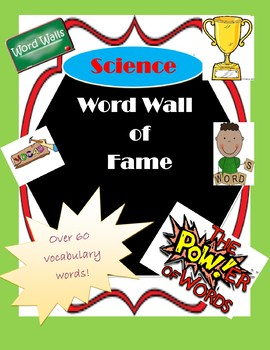 Science 'Wall-of-Fame' Word Wall