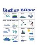 Science: Water Bingo