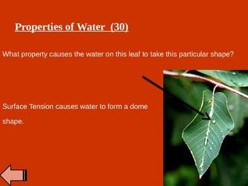 Science - Water Jeopardy
