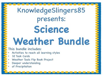 Science: Weather Bundle