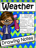 Science: Weather Drawing Notes