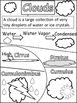 Science: Weather Doodle Notes