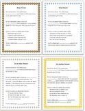 Science Weather Poems and Meteorology Scripts