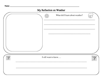 Science- Weather Reflection