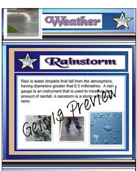 Science - Weather Smartboard File