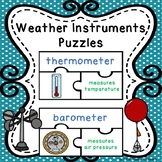 Science Weather Tools Activity Weather Instruments Activity Vocabulary Words
