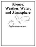 Science:  Weather, Water, and Atmosphere (grade 2)