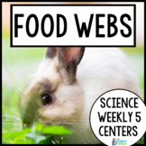 Food Chains {Science Weekly Five Stations}