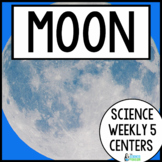 Moon {Science Weekly Five Stations}
