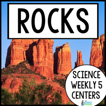 Rocks and Fossils {Science Weekly Five Stations}
