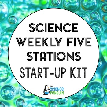 Science Weekly Five Stations Start-Up Kit