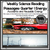 Science Homework: Energy Reading Comprehension Passages