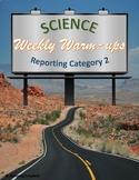 Science Weekly Warm-ups Reporting Category 2