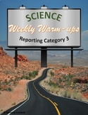 Science Weekly Warm-ups Reporting Category 3