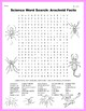Science Word Search: Arachnid Facts