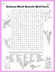 Science Word Search: Bird Facts