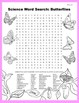 Science Word Search: Butterfly