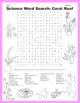 Science Word Search: Coral Reef