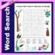 Science Word Search: Environment Unit