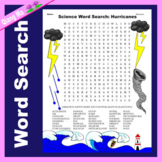 Science Word Search: Hurricanes