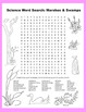 Science Word Search: Marshes & Swamps