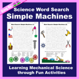 Science Word Search: Simple Machines