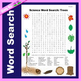 Science Word Search: Trees