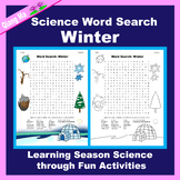 Science Word Search: Winter