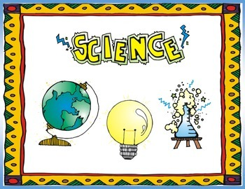 Science Word Wall (5th Grade)