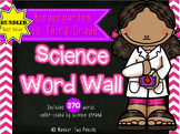 Science Word Wall: Bundled, Kindergarten-Third Grade