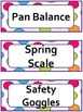 Science Word Wall Cards: Nature of Science