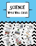 Science Word Wall Cards for Second Grade: Intro to Science Unit