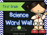 Science Word Wall: First Grade