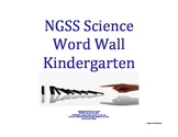 Science Word Wall K Kindergarten Vocabulary NGSS National Standards