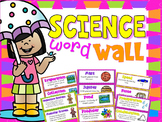 Science Word Wall: Vocabulary Cards *175 Cards*