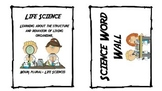 Science Word Wall Words Ch. 1
