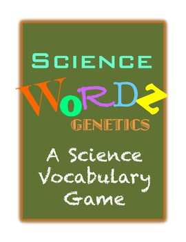 Science Wordz- Genetics, A Science Vocabulary Game