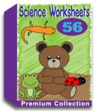 Science Worksheets for Kindergarten (50 Worksheets) Distance Learning (No Prep)