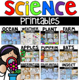 Science Worksheets and Activities BUNDLE Distance Learning