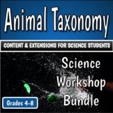 Science Workshop Bundle - Animal Taxonomy